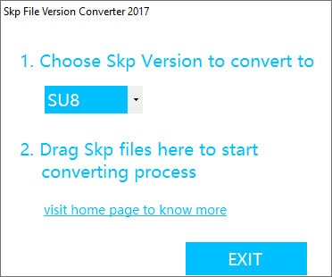 SKP File Version Converter 2017