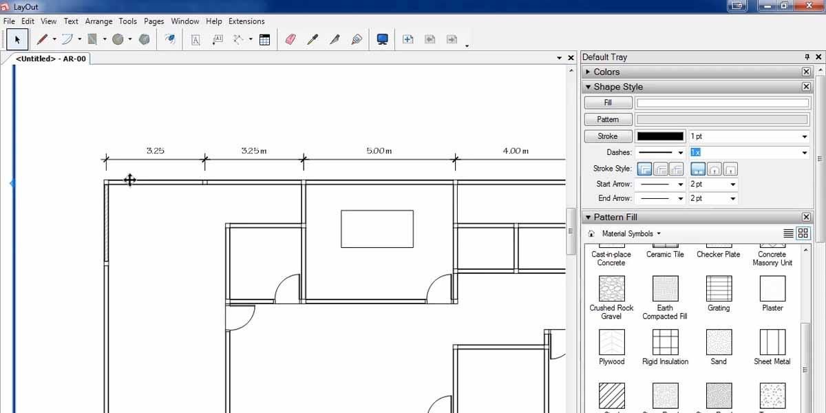 Layout Sketchup Membuat Denah Rumah Wahyues Group