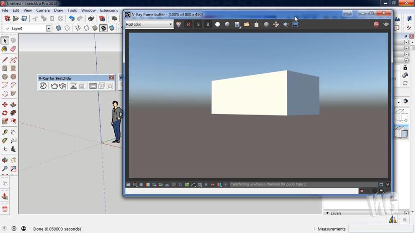 Mengenal Toolbar VRay SketchUp