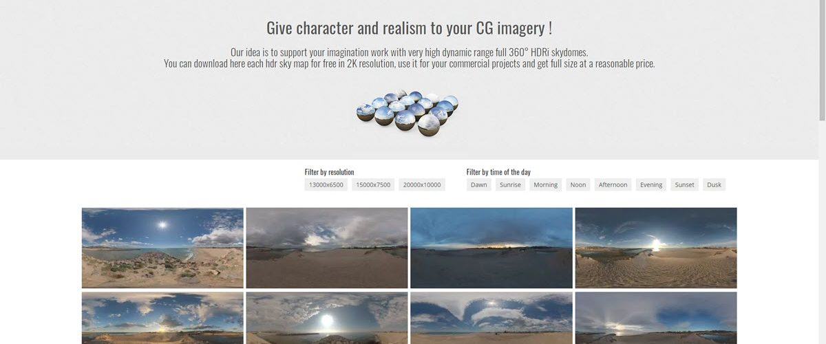 HDRi Skies Cara Download Gratis