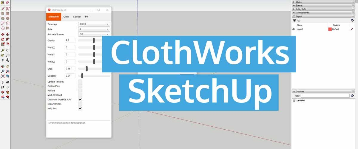 ClothWorks SketchUp