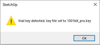 1001bit Trial Key Detected