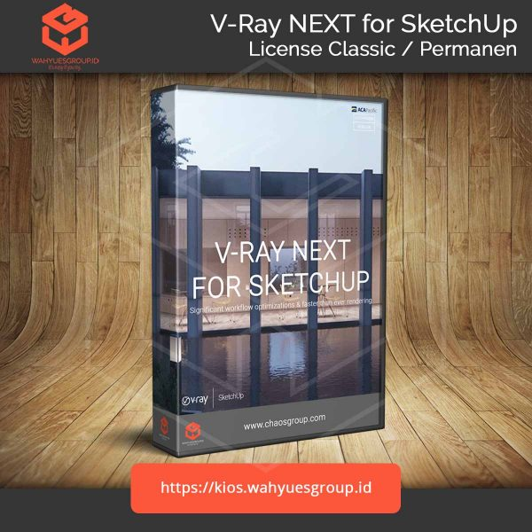 V-Ray Next SketchUp Pro Permanen License