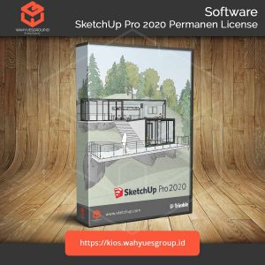 SketchUp Pro 2020 Permanen License