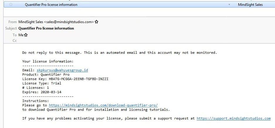 Email Quantifier Pro