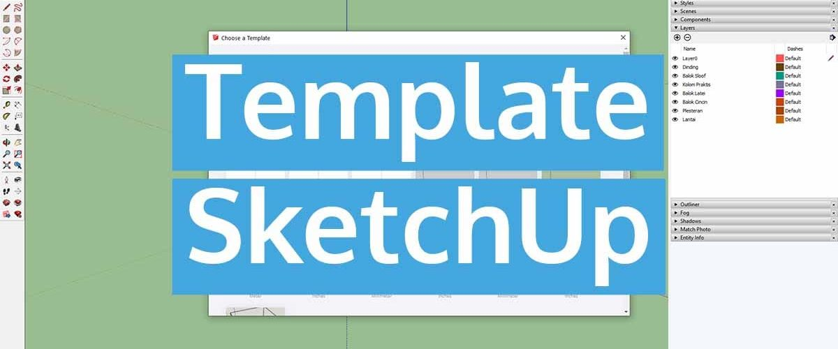 Template SketchUp