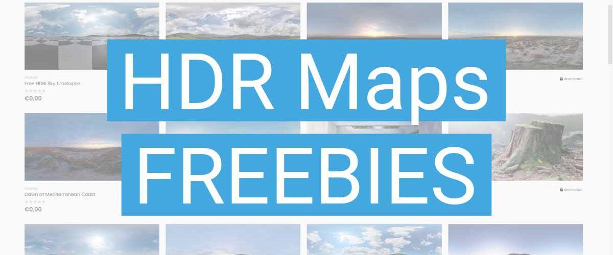 HDR Maps Freebies