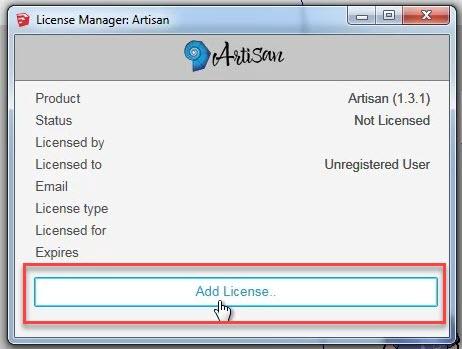 License Manager Artisan