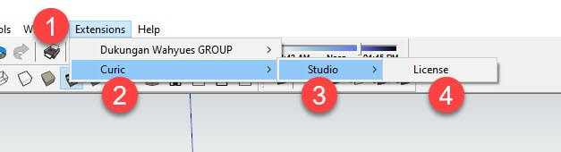 Curic Studio License Activated