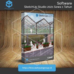 SketchUp Studio 2021 Berlangganan 1 Tahun