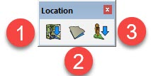 Toolbar Add Location SketchUp 2017