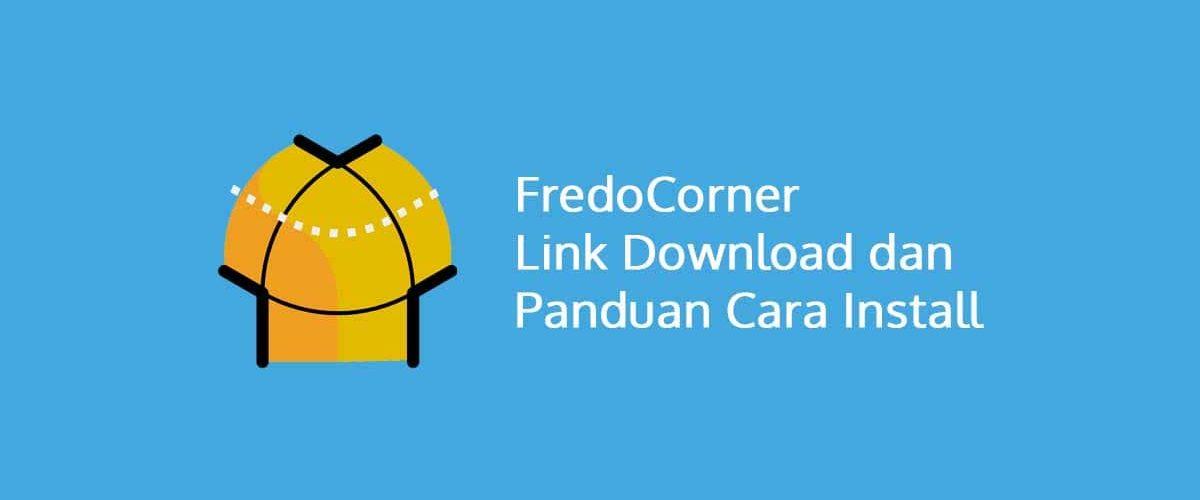 FredoCorner SketchUp Link Download dan Panduan Lengkap Cara Install