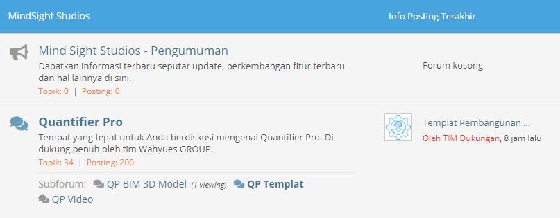 Forum MSS Quantifier Pro