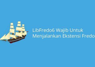 LibFredo6 Wajib Untuk Menjalankan Ekstensi Fredo6