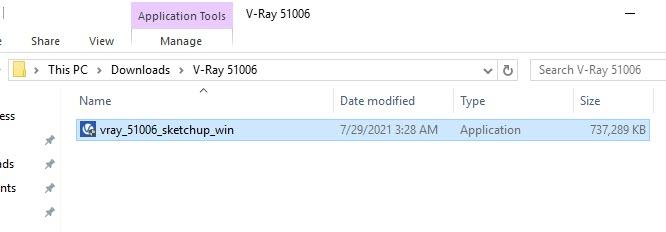 V-Ray 5 Install File